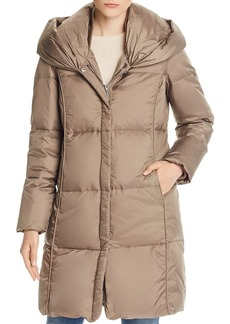 MICHAEL Michael Kors Hooded Shawl Collar Puffer Coat
