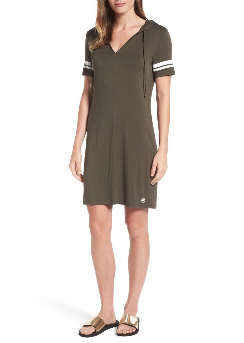 MICHAEL Michael Kors Hooded T-Shirt Dress (Regular & Petite)
