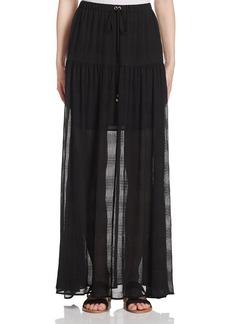 MICHAEL Michael Kors Illusion Maxi Skirt