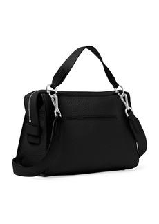 MICHAEL MICHAEL KORS Ingrid Pebbled Leather Shoulder Bag