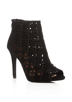 MICHAEL Michael Kors Ivy High Heel Open Toe Booties