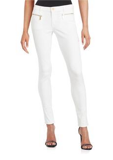 MICHAEL MICHAEL KORS Izzy Exposed Zipper Skinny Jeans