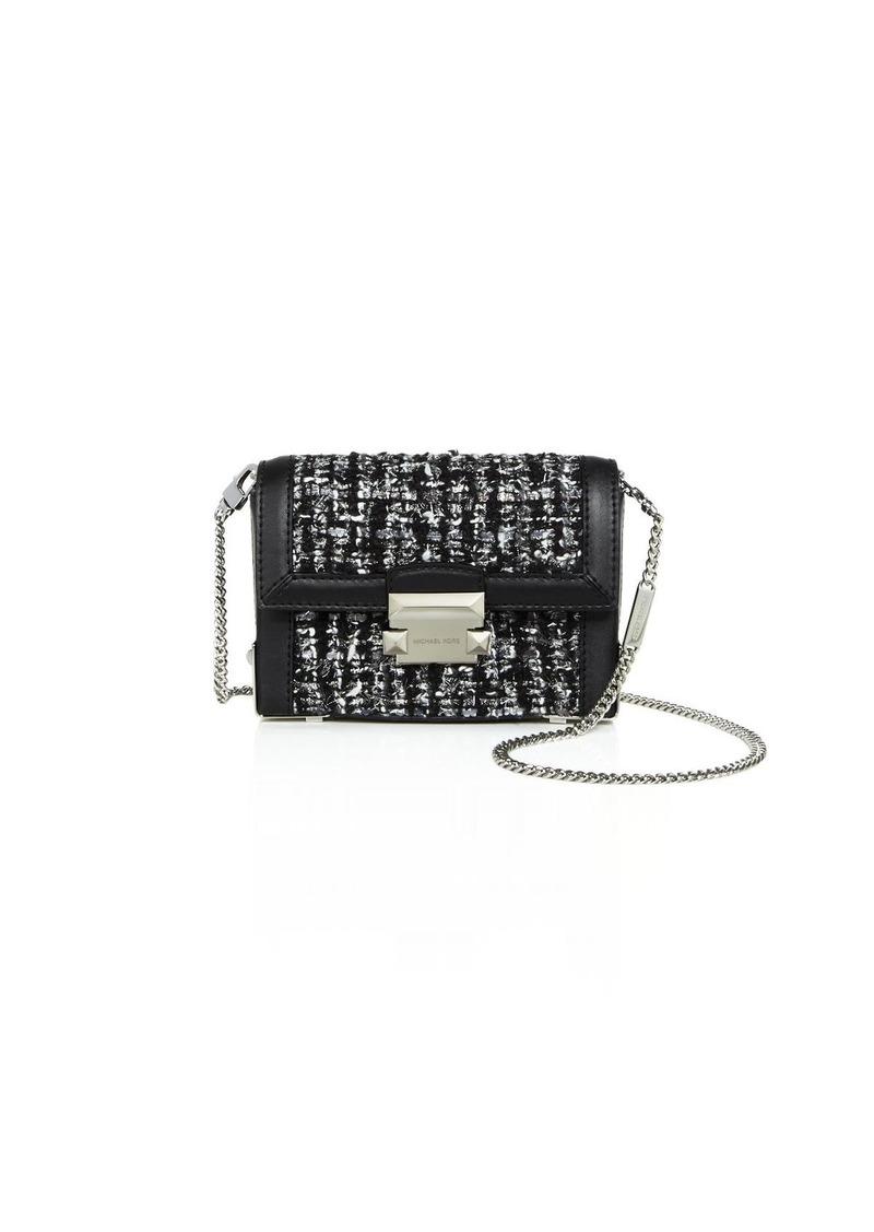 03c676e5d785 Jayne Tweed & Leather Convertible Belt Bag - 100% Exclusive. MICHAEL  Michael Kors