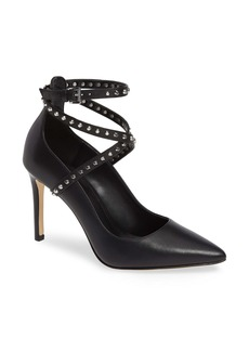 MICHAEL Michael Kors Jeannie Studded Ankle Wrap Pump (Women)