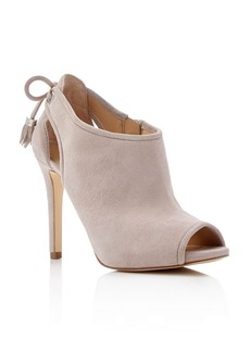 MICHAEL Michael Kors Jennings Peep Toe High Heel Booties