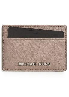 MICHAEL Michael Kors 'Jet Set' Card Holder