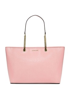 MICHAEL MICHAEL KORS Jet Set Leather Chain Tote