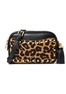 MICHAEL Michael Kors Jet Set Small Cheetah-Print Convertible Belt Bag
