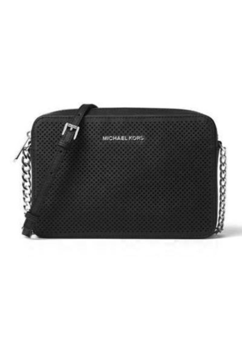 MICHAEL Michael Kors Jet Set Travel Large Perforated Crossbody Bag