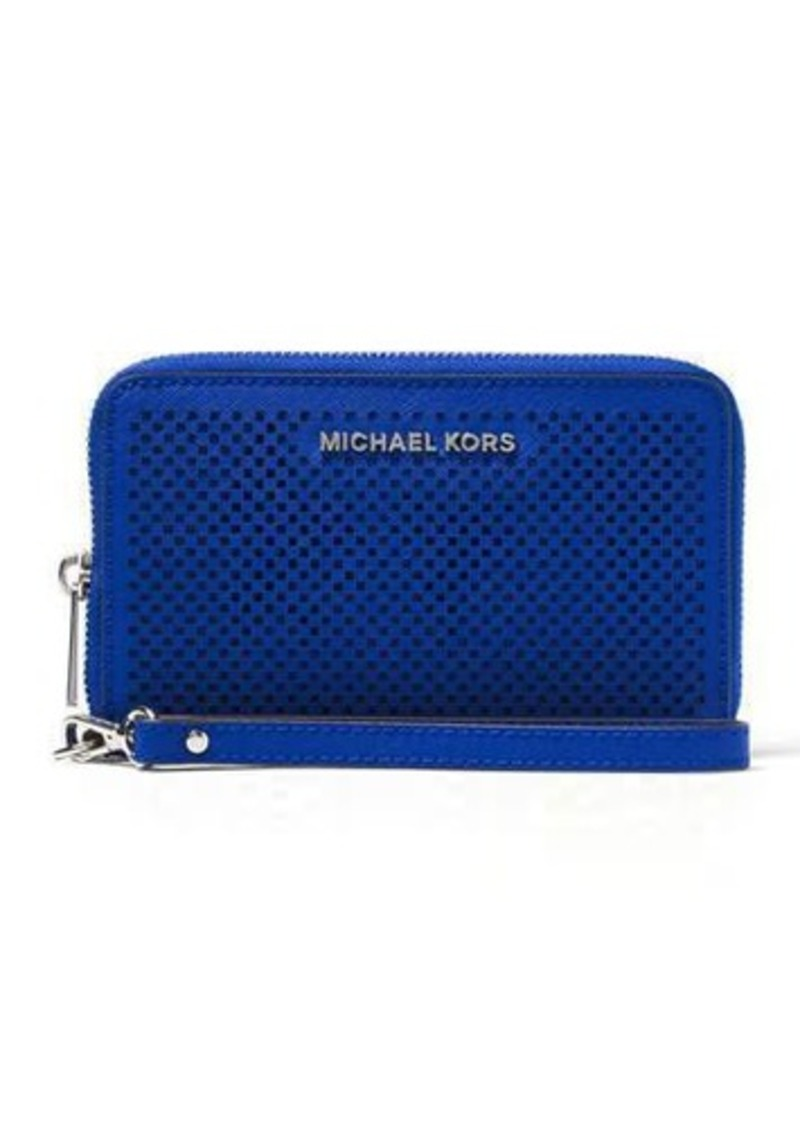 MICHAEL Michael Kors Jet Set Travel Large Perforated Phone Case