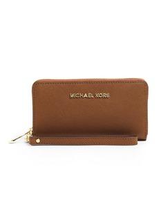 MICHAEL MICHAEL KORS Jet Set Travel Large Phone Wristlet