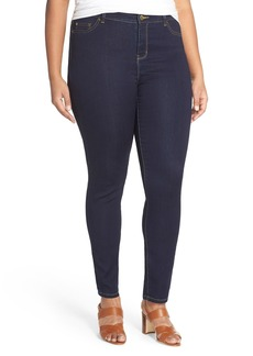 MICHAEL Michael Kors 'Jetset' Stretch Skinny Jeans (Twilight) (Plus Size)