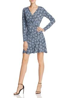 MICHAEL Michael Kors Jewel-Print Crossover Mini Dress