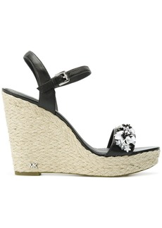 Michael Michael Kors Jill wedge sandals - Black