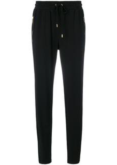 Michael Michael Kors tapered jogger trousers - Black