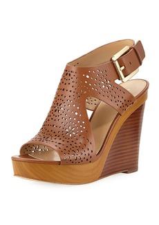 MICHAEL Michael Kors Josephine Perforated Wedge Sandal