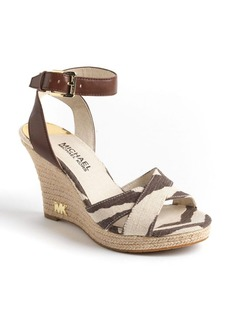 MICHAEL MICHAEL KORS Kami Platform Wedge Sandals