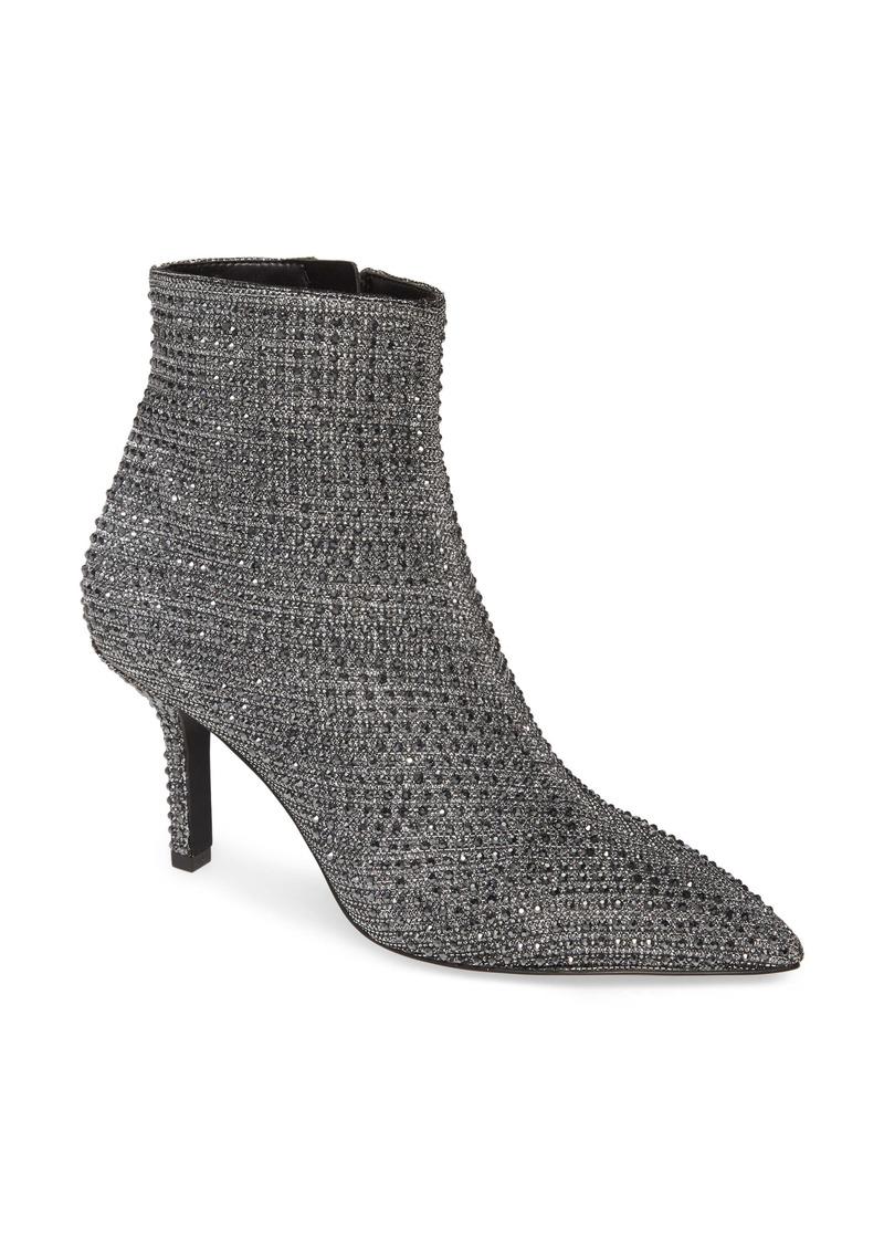MICHAEL Michael Kors Katerina Embellished Glitter Bootie (Women)