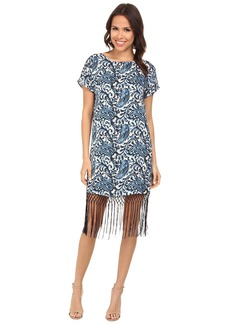 MICHAEL Michael Kors Kathumar Fringe Dress