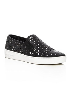 MICHAEL Michael Kors Keaton Perforated Slip-On Sneakers