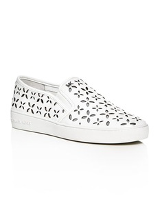MICHAEL Michael Kors Keaton Perforated Slip-On Sneakers