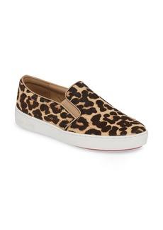 MICHAEL Michael Kors Keaton Genuine Calf Hair Slip-On Sneaker (Women)