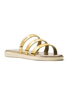 MICHAEL MICHAEL KORS Keiko Slide Slip-On Flat Sandals
