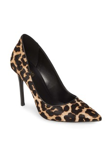 MICHAEL Michael Kors Keke Pointed Toe Genuine Calf Hair Pump (Women)