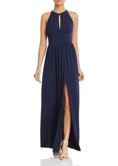 MICHAEL Michael Kors Keyhole Maxi Dress