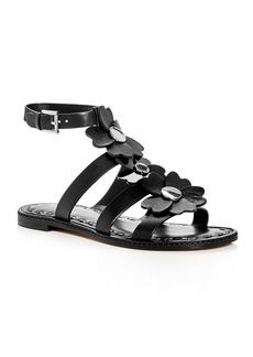 MICHAEL Michael Kors Kit Ankle Strap Flower Embellished Sandals