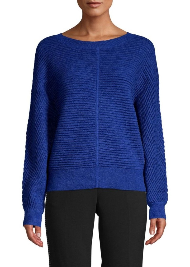 MICHAEL Michael Kors Knit Dolman-Sleeve Wool-Blend Sweater