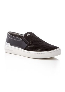 MICHAEL Michael Kors Kyle Perforated Slip On Sneakers