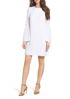 MICHAEL Michael Kors Lace Appliqué Bell Sleeve Dress