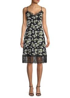 MICHAEL Michael Kors Lace Floral Slip Dress
