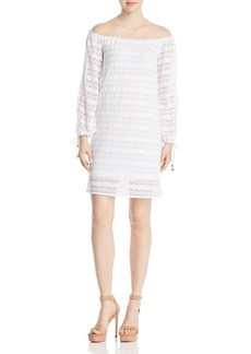 MICHAEL Michael Kors Lace Off-the-Shoulder Dress