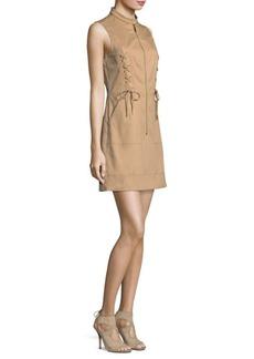 MICHAEL MICHAEL KORS Lace-Up A-Line Dress