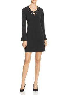 MICHAEL Michael Kors Laced Grommet Dress