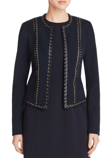 MICHAEL Michael Kors Laced Suede Jacket