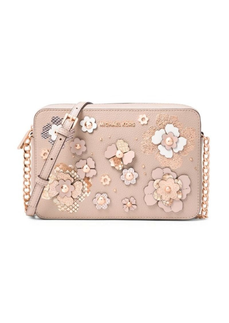ac523a8e106d6 MICHAEL Michael Kors MICHAEL MICHAEL KORS Large Floral Embossed ...