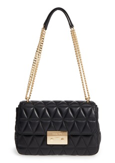 MICHAEL Michael Kors Large Sloan Quilted Lambskin Leather Shoulder Bag