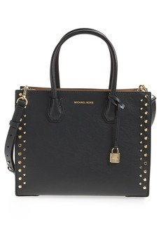 MICHAEL Michael Kors Large Studded Leather Tote