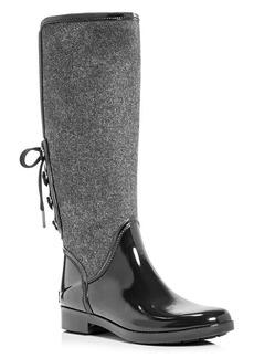 MICHAEL Michael Kors Larson Waterproof Flannel Rain Boots