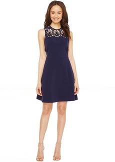 MICHAEL Michael Kors Laser Cut Flower Dress