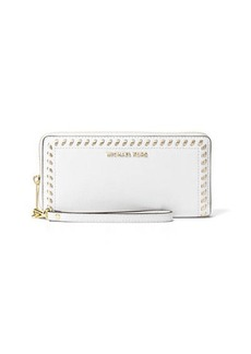 MICHAEL Michael Kors Lauryn Whipstitch Continental Wristlet Wallet