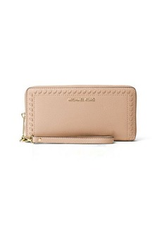 MICHAEL Michael Kors Lauryn Whipstitch Continental Wristlet Wallet