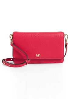 MICHAEL Michael Kors Leather Crossbody Phone Wallet