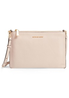 MICHAEL Michael Kors Leather Double Pouch Crossbody Bag