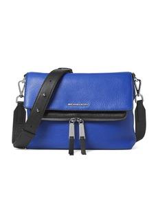 MICHAEL MICHAEL KORS Leather Messenger Bag