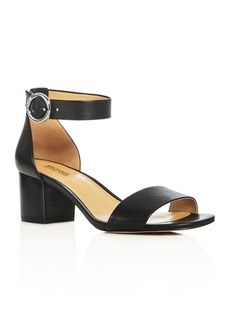 MICHAEL Michael Kors Lena Ankle Strap Block Heel Sandals