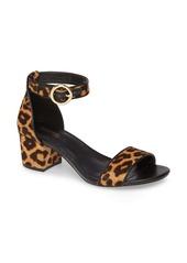 MICHAEL Michael Kors Lena Block Heel Genuine Calf Hair Sandal (Women)